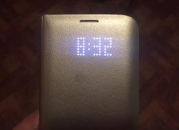 Samsung S7 Edge LED WalletCover