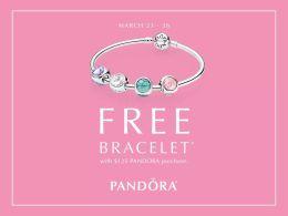 Free Pandora BraceletPromo