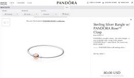 Pandora Rose Bangle